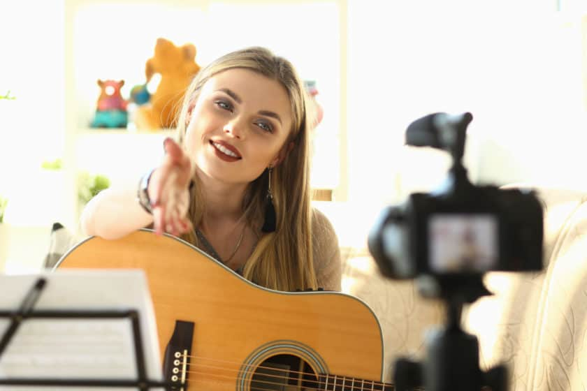 How best to live stream as a musician or singer