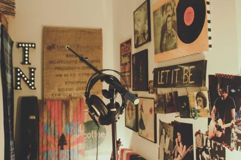 DIY recording studio